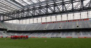 Atlético festeja certidões negativas com fornecedores da Arena na Copa.