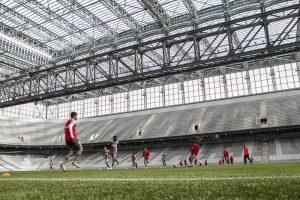 Atlético responde prefeitura e crê em reviravolta sobre dívida da Arena da Copa. Daniel Caron/Gazeta do Povo