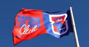 Bandeira do Paraná Clube. Tricolor fechou com a Globo.