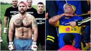Hooligans russos e argentinos fecham pacto para brigar contra ingleses na Copa