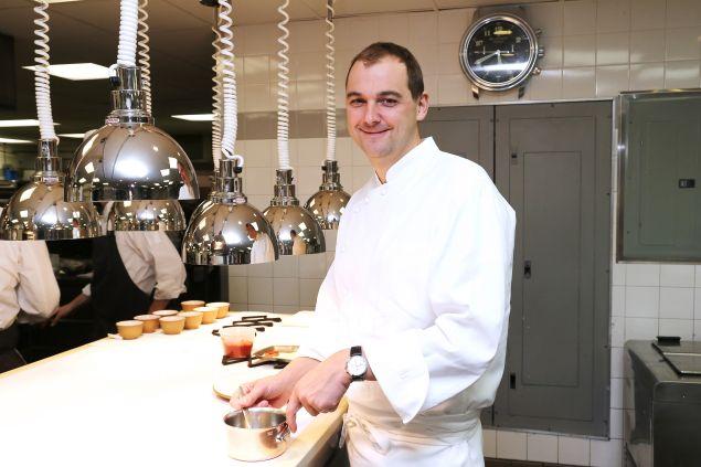 O chef Daniel Humm trabalha na cozinha de restaurantes desde os 14 anos e ganhou sua primeira estrela Michelin aos 24 anos.  (crédito: Reprodução/Neilson Barnard/Getty Images)