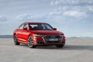O novo sistema de Inteligência Artificial do Audi A8 transforma o veículo em um carro semi-autônomo. (crédito: divulgação).