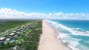 O Kenoa Beach Villas será um condomínio de luxo à beira mar anexo ao resort. (crédito: divulgação).