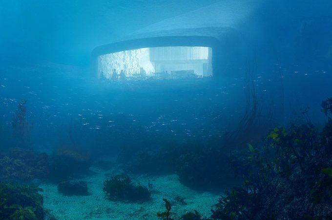 Noruega anuncia o primeiro restaurante submerso da Europa