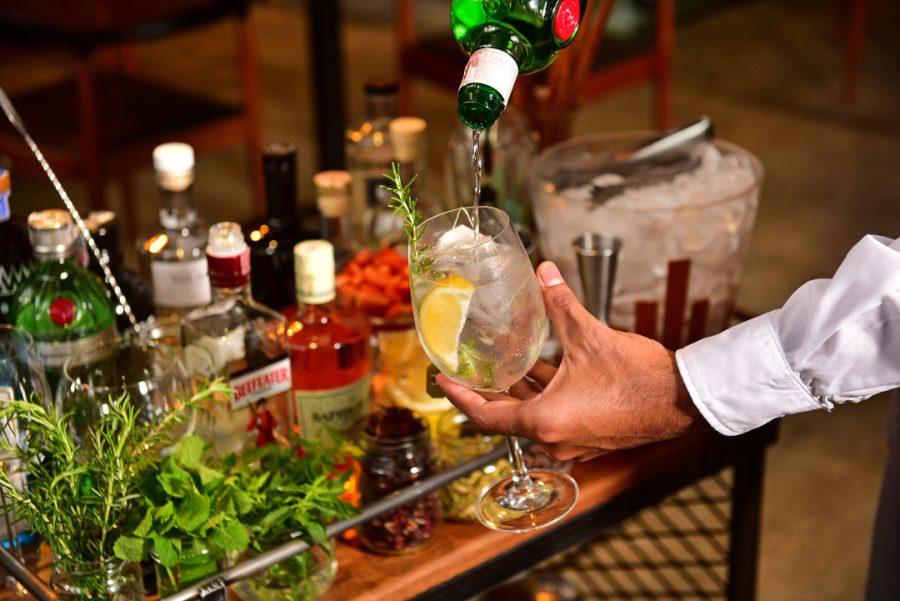 Carrinho de Gin Tonic   Foto: Marcelo Krelling