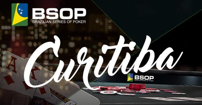 BSOP Curitiba ocorrerá entre 19 e 24 de outubro. Imagem: Super Poker.