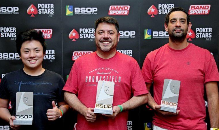 Curitibanos fazem dobradinha no Brasileiro de poker