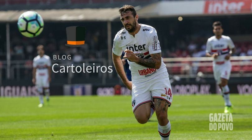Lucas Pratto é aposta para a 28ª rodada do Cartola FC 2017. (Foto: Rodrigo Gazzanel/Estadão Conteúdo)