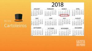 Mercado da 1ª rodada do Cartola FC 2018