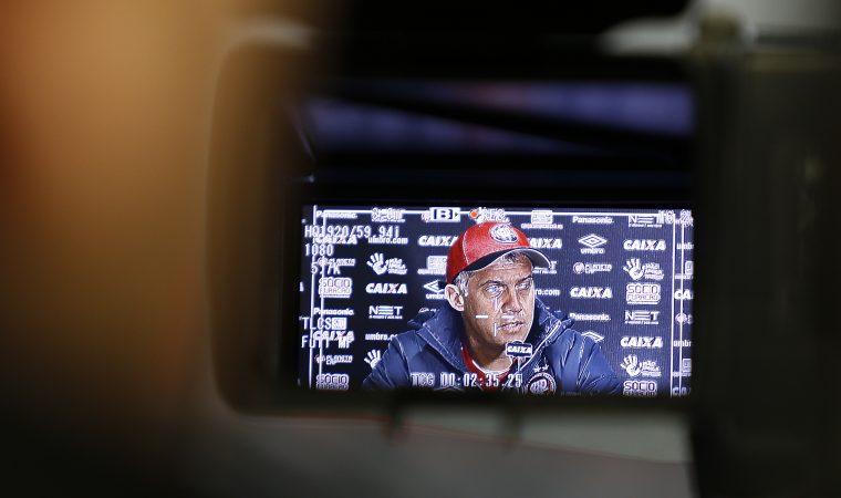 Eduardo Baptista e a reação do Atlético