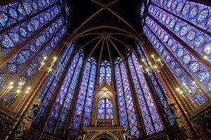 Sainte-Chapelle, em Paris