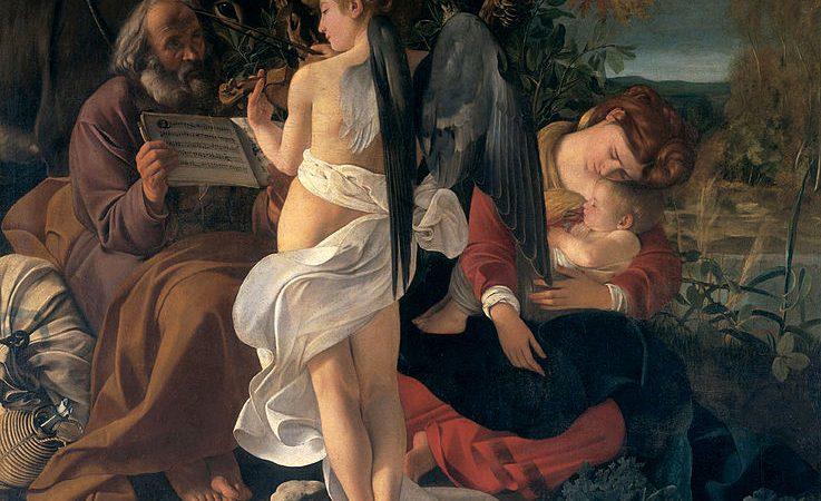 A precisão musical de duas pinturas de Caravaggio