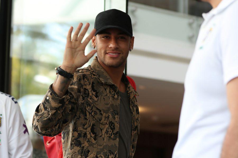 Neymar. Foto: Lucas Figueiredo/CBF