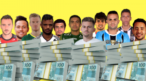 Os mais valiosos do Brasileirão
