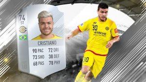 Cristiano da Silva, o jogador mais raro do FIFA 18