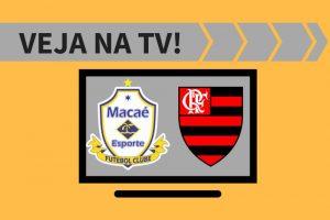 Macaé x Flamengo.