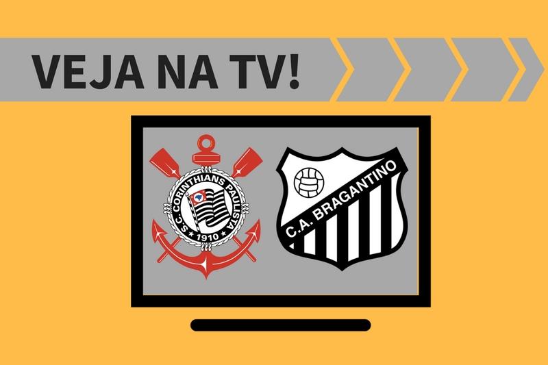 Corinthians x Bragantino ao vivo: saiba como assistir ao jogo na TV