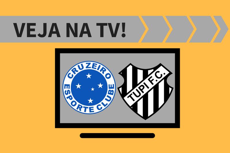 Cruzeiro x Tupi AO VIVO: saiba como assistir ao jogo na TV