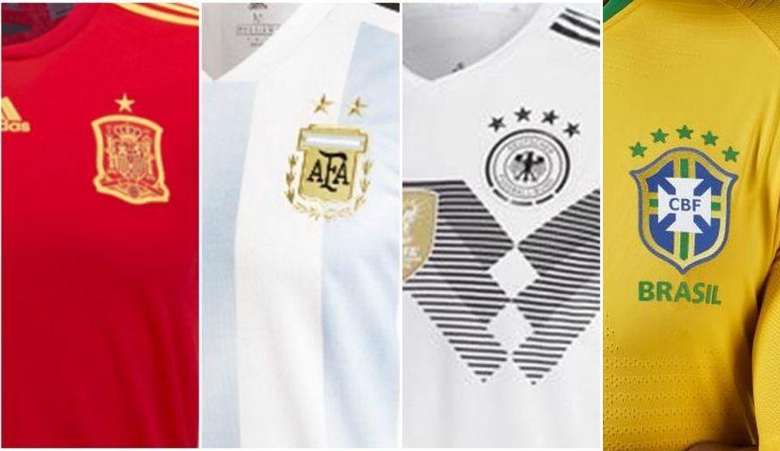Guerra Nike x Adidas: as camisas das seleções da Copa da Rússia 2018