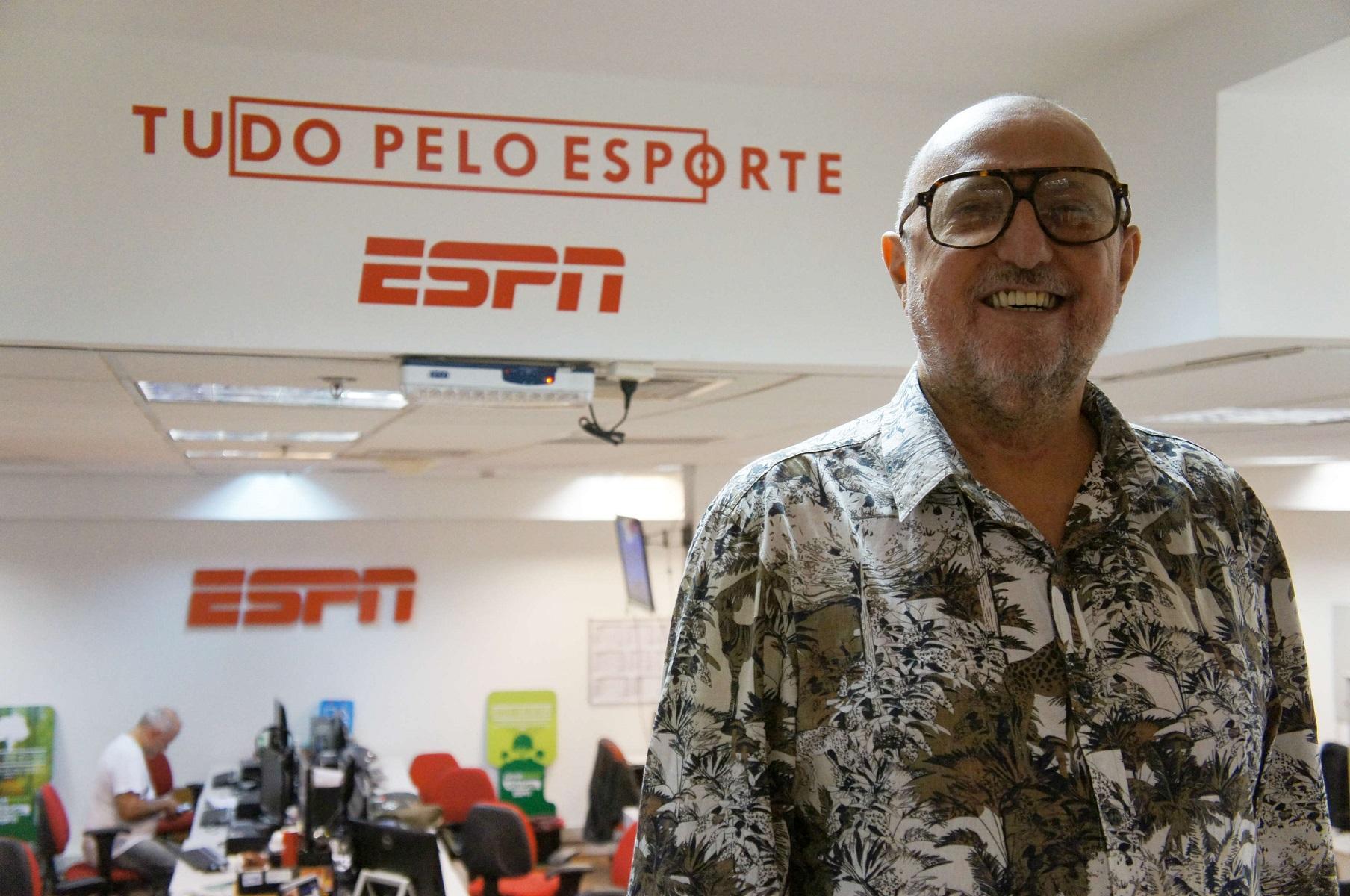 ESPN Brasil se reforça com comentarista do SporTV para Copa 2018