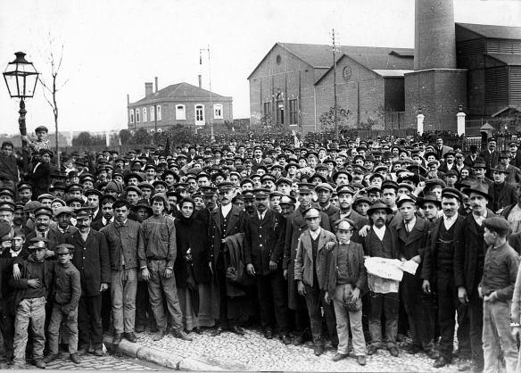 Greve geral de 1917: luta por direitos.