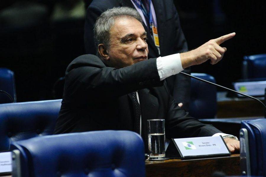 Alvaro Dias. Foto: Geraldo Magela/Ag. Senado.