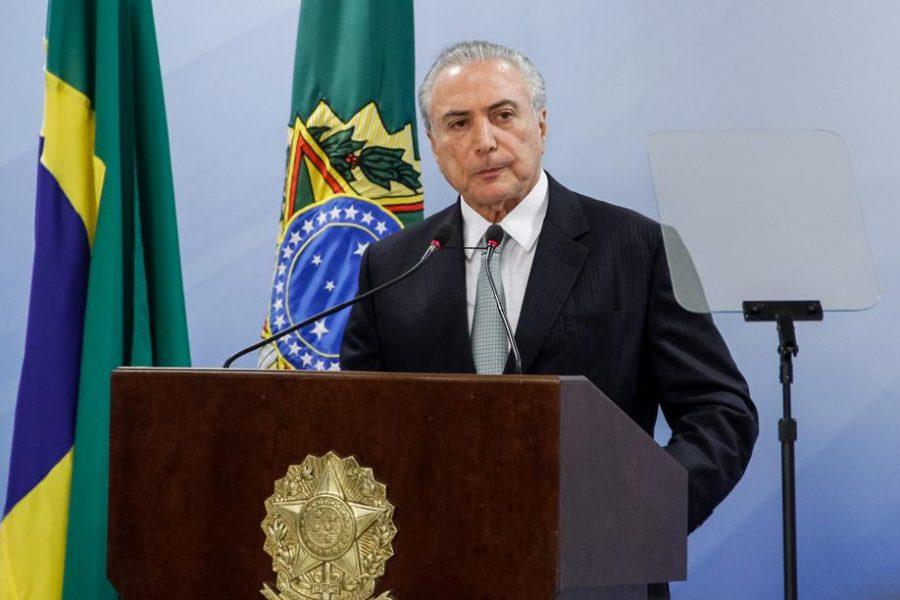 Michel Temer. Foto: Guilherme Brito/Presidência da República.