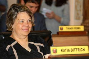 Vereadora Katia Dittrich. Foto: Chico Camargo/CMC.