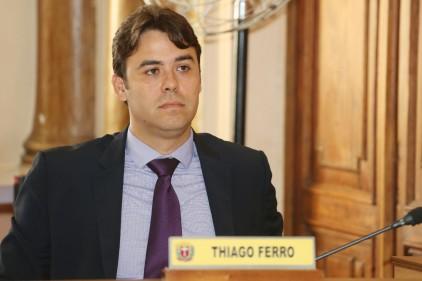 Vereador Thiago Ferro (PSDB). Foto: Chico Camargo/CMC.