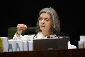 Cármen Lúcia, presidente do STF. Foto: Nelson Jr./SCO/STF