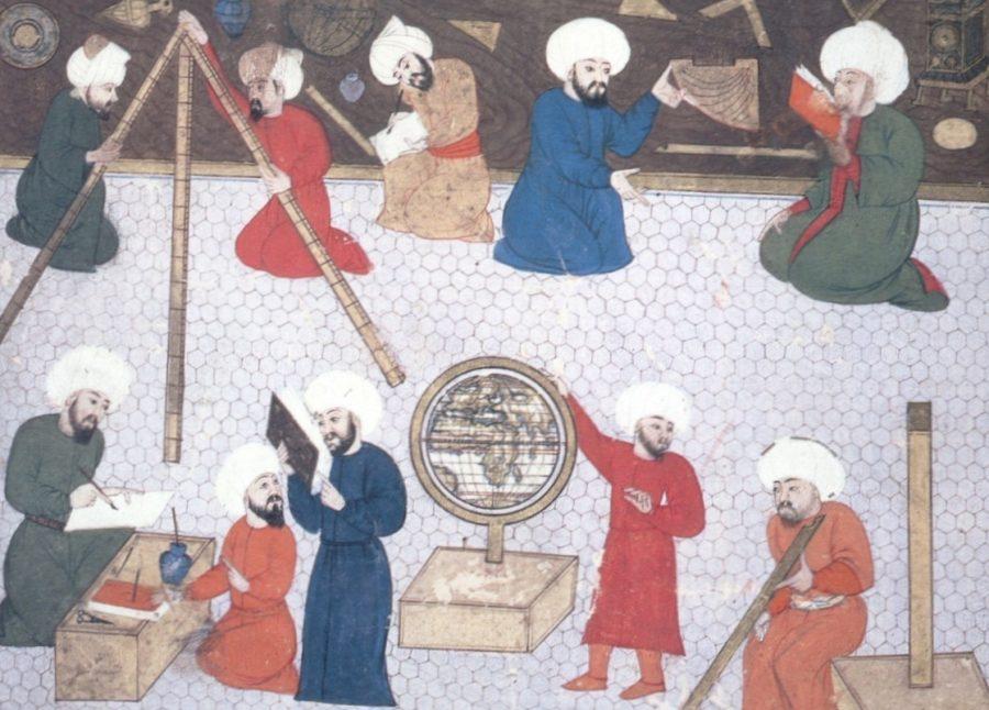 Observatório de Taqi al Din, em Istambul