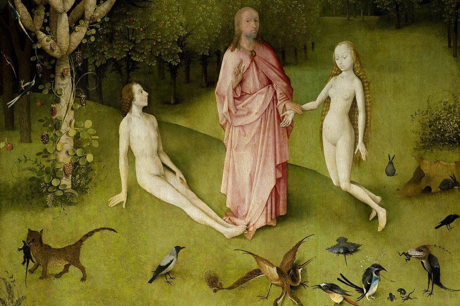 Criação de Eva, de Hieronymus Bosch
