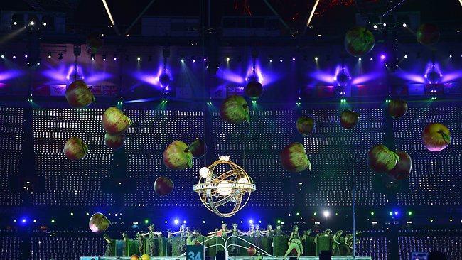 cerimônia de abertura dos Jogos Paralímpicos de Londres