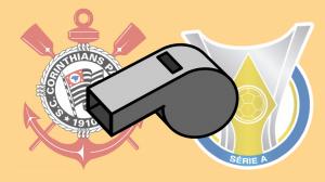 Corinthians é o time mais ajudado pelo apito no Brasileirão