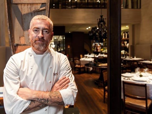 O chef Alex Atala foi o único brasileiro a figurar na lista dos 50 melhores restaurantes do mundo, conquistando a 16ª posição com o premiado restaurante D.O.M. (crédito: divulgação).