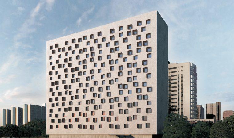 Conheça o B Hotel, projetado por Isay Weinfeld em Brasília