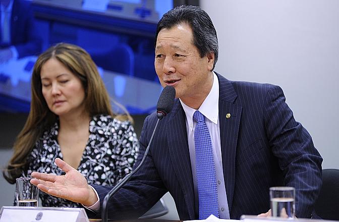 Deputado federal Luiz Nishimori (PR-PR). Foto: Lucio Bernardo Jr./Arquivo Câmara dos Deputados