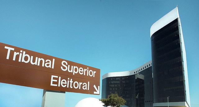 Sede do Tribunal Superior Eleitoral (TSE), em Brasília. Foto: Arquivo TSE