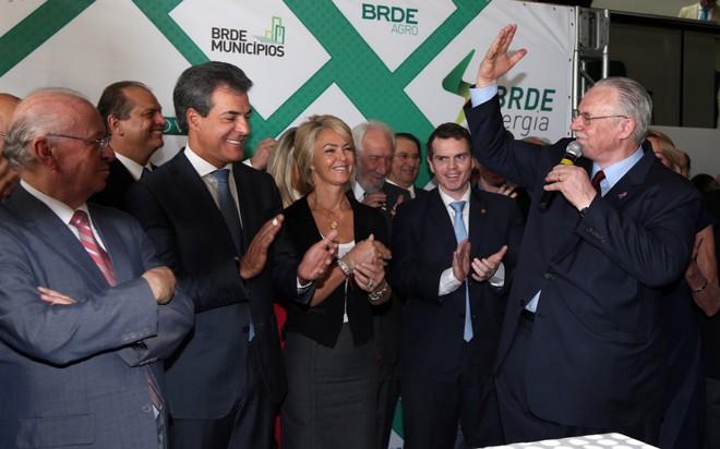 Orlando Pessuti tomou posse na presidência do BRDE em novembro de 2017. Foto: Divulgação/BRDE