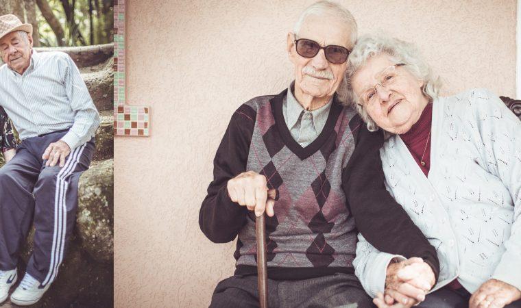 O amor não tem idade para os enamorados!