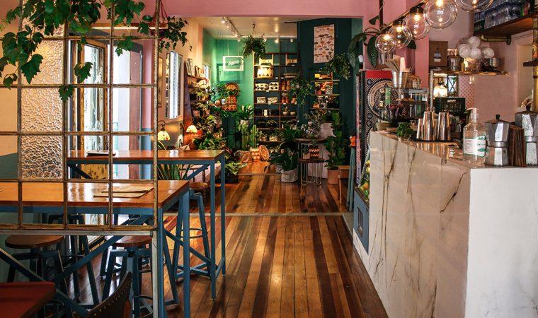 Botanique: Café, Bar e Plantas
