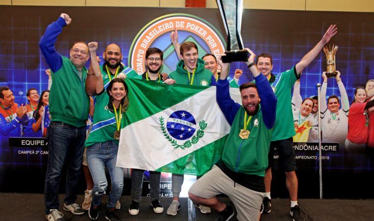 Paraná é campeão brasileiro de poker por equipes pela 1ª vez