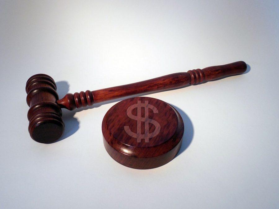 Martelo do juiz, símbolo da magistratura.