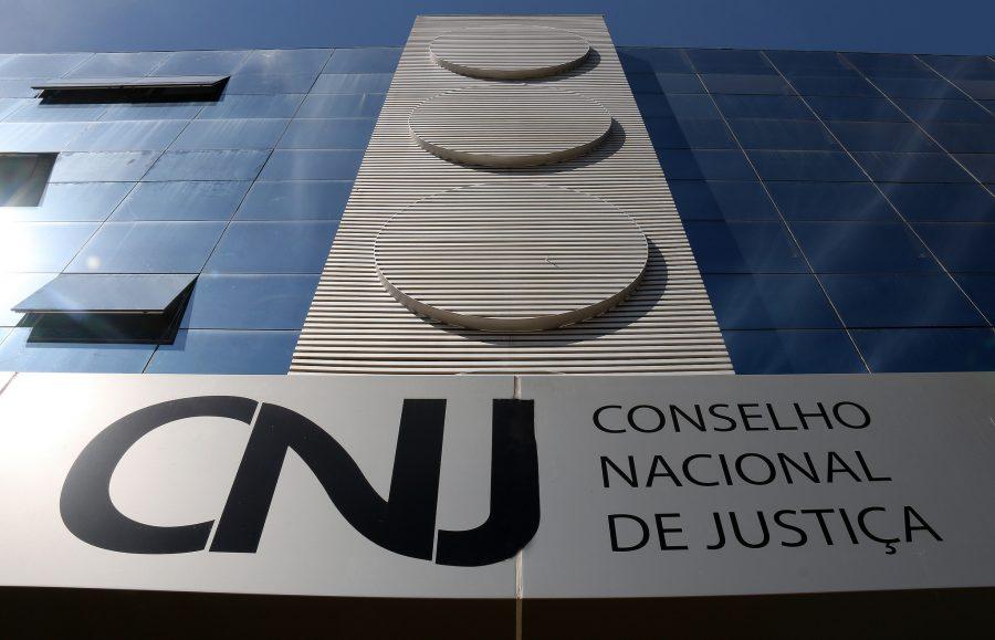 Fachada da sede do Conselho Nacional de Justiça, em Brasília