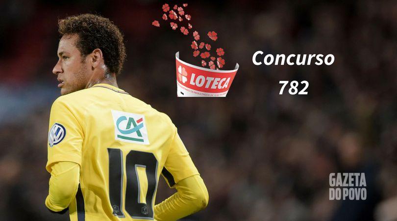 Jogo do PSG, de Neymar, está no concurso 782 da Loteca. (Foto: AFP)