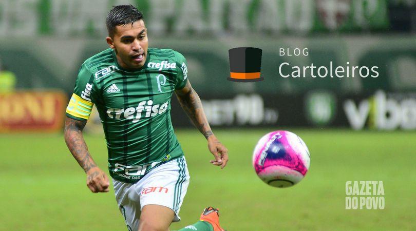 Dudu, do Palmeiras, será o atleta mais caro do Cartola FC 2018 (Foto: Bruno Ulivieri/Estadão Conteúdo)