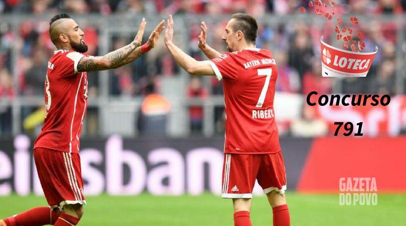 Jogo do Bayern de Munique está concurso 791 da Loteca (Foto: AFP).