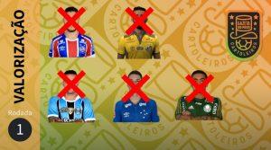 Cartola FC 2018: valorização na 1ª rodada.