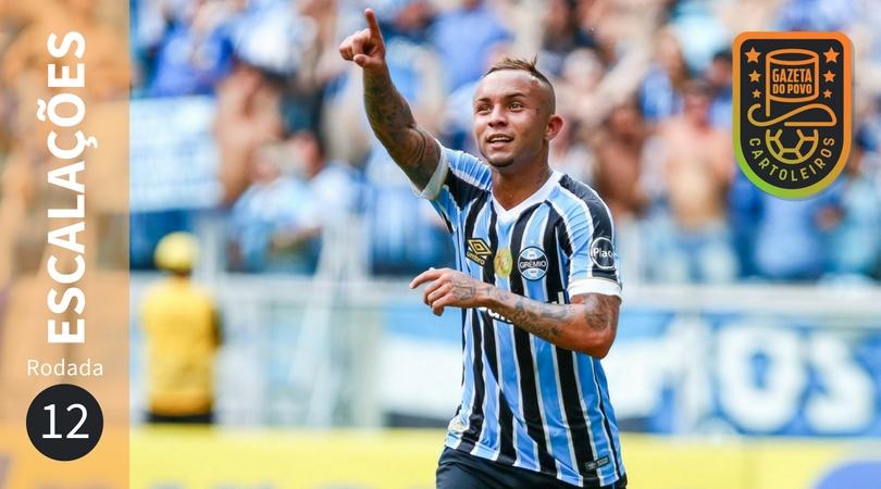 Confira escalações, suspensos e lesionados da 12ª rodada do Brasileirão