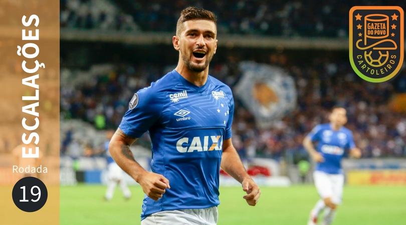 Confira escalações, suspensos e lesionados da 19ª rodada do Brasileirão